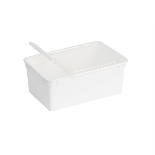 BraPlast Box 1.3L White + Lid BP-13W